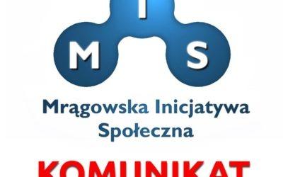 Nowy radny w szeregach Mrągowskiej Inicjatywy Społecznej