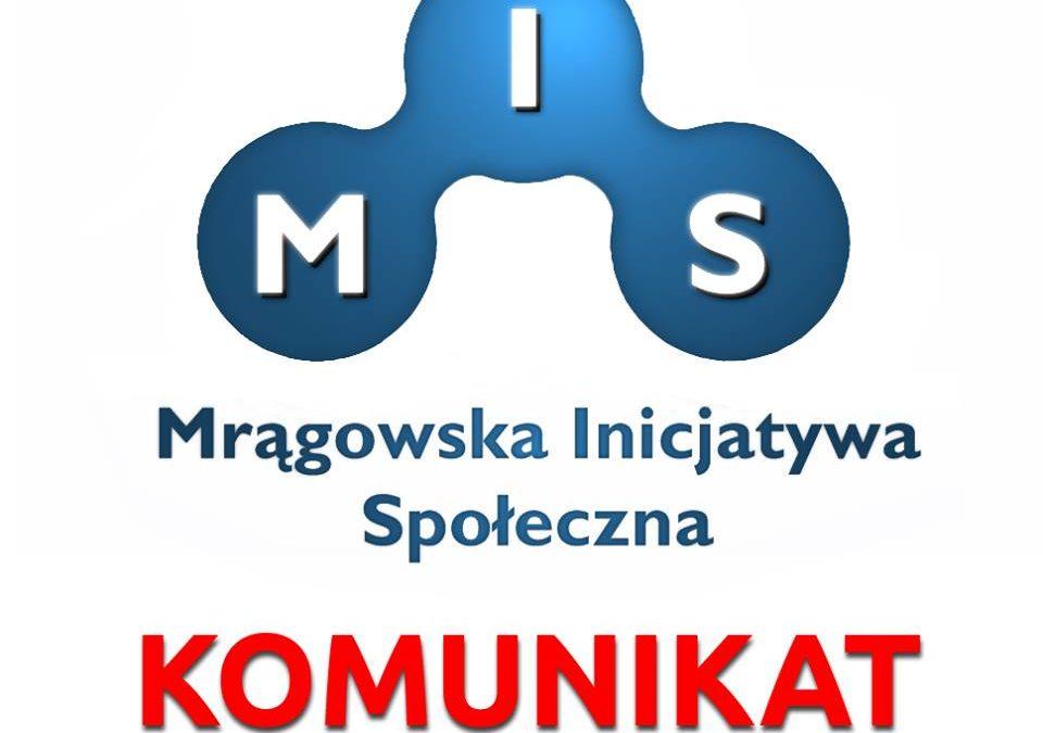 XV Sesja Rady Miejskiej w Mrągowie. Zaproszenie