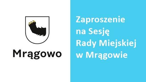 Zaproszenie na XIX sesję Rady Miejskiej w dniu 13.02.2020, godz. 15.00