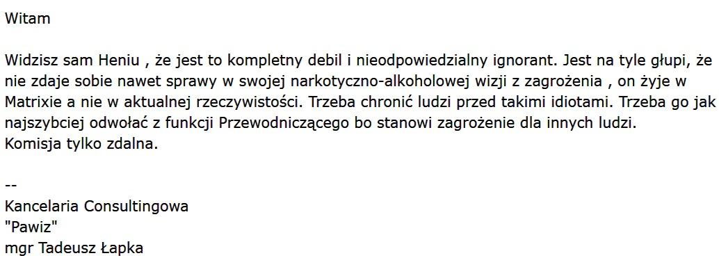 Dlaczego rękoma swoich radnych Burmistrz Stanisław Bułajewski rozwiązał Komisję Edukacji?!