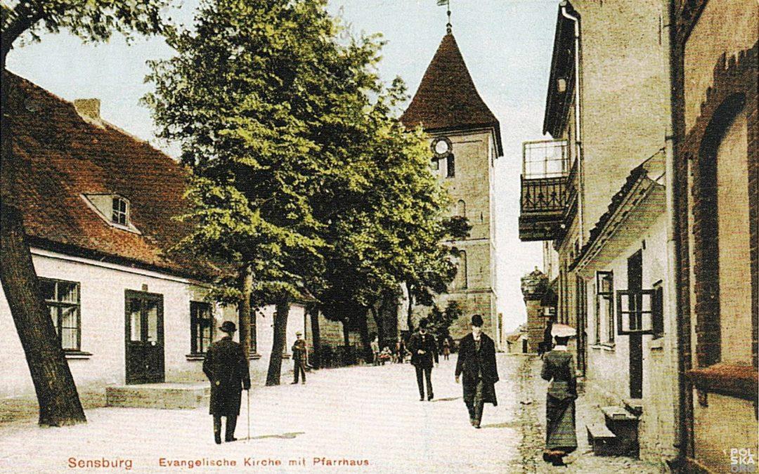 Smutna historia pewnej ulicy w mieście Mrągowo