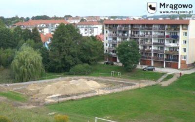 O zagospodarowaniu terenu rekreacyjnego przy ul. Sienkiewicza